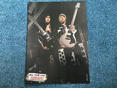 £2.25 • Buy Jack Barakat & Alex Gaskarth/All Time Low Double Sided Poster - Kerrang!