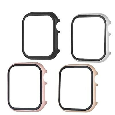 $ CDN3.60 • Buy Apple Watch Series 4/3/2 Aluminum Case Cover Frame+3D Screen IWatch 5 Protector
