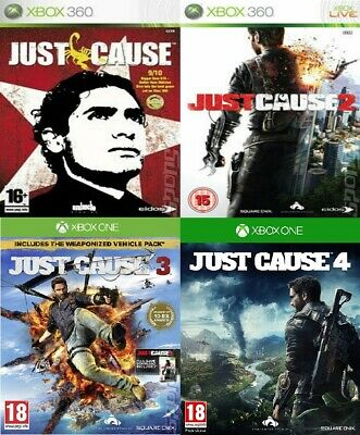£4.49 • Buy Just Cause Xbox 360 / Xbox One Backward Compatible Bundle - Super Fast Delivery