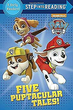 Five Puptacular Tales! PAW Patrol Step Into Reading Picture Book Various • 4.09£