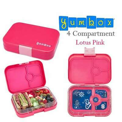 AU44.99 • Buy Best Quality Leakproof Lunchbox Yumbox Tapas4c Explore Tray Pink AU Seller
