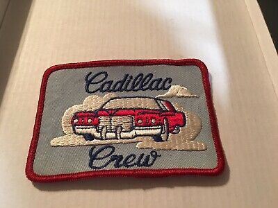 Vintage Red CADILLAC CREW Car / Auto Patch 004 • 14.99$