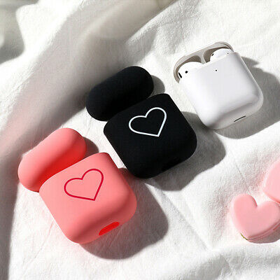 $ CDN3.49 • Buy Accessories Cute Protective Cover For Apple Airpods Hard PC Case Love Heart
