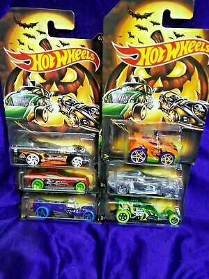2019 Hot Wheels Halloween 6 Car Set Limited Time Free Shipping Diecast Exclusive • 13.59$