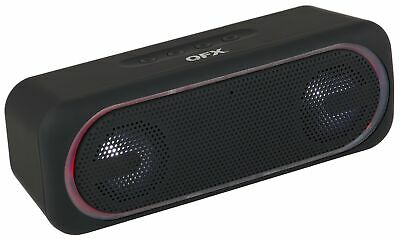 $ CDN31.52 • Buy QFX BT-153 Portable/Rechargeable Speaker +Bluetooth +USB/SD/FM/LED +Hands-Free