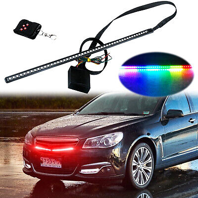 $19.99 • Buy 24  RGB LED Knight Rider Light Strip Decoration LED Scanning Light Behind Grill