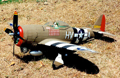 Republic P-47D Thunderbolt Large Scale 1:16 Guillow's Balsa Aircraft Kit 768mm W • 110.98£