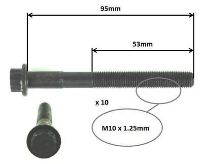AU90.99 • Buy CYLINDER HEAD BOLT SET For TOYOTA CAMRY SDV10R-SXV10R SEDAN 1993-97 2.2L 5SFE I4