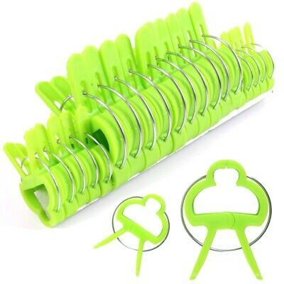 £3.04 • Buy 20x GARDEN PLANT CLIPS Tomato Tie Stem Orchid Support Weatherproof Grow Training