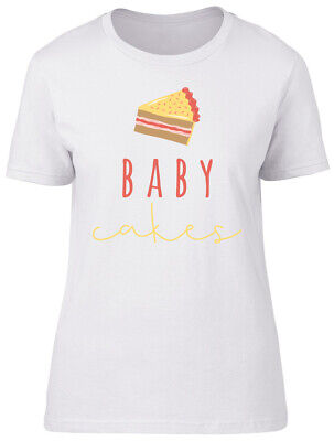 £9.99 • Buy Baby Cakes Ladies Womens Fitted T-Shirt