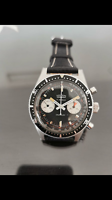 $ CDN3687.93 • Buy Vintage  Vulcain Chronograph Diver Watch Cal.Valjoux 23 Excellent Condition