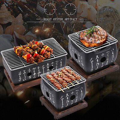 $ CDN86.98 • Buy Japanese Style BBQ Grill Charcoal Grill Aluminium Alloy Portable Barbecue Tools