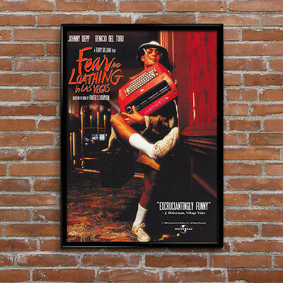 Fear And Loathing In Las Vegas Depp Movie High Quality Poster Print Art A1, A2+ • 16.99£