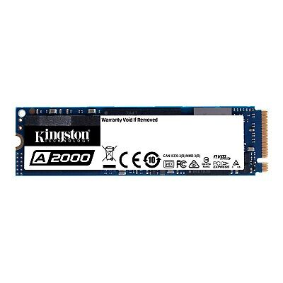 Kingston A2000 M.2-2280 1TB PCI Express 3.0 X4 NVMe Solid State Drive • 101.59£