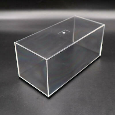£10.35 • Buy Acrylic Display Case Model Cars Show Box Transparent Dust Proof With Black Base