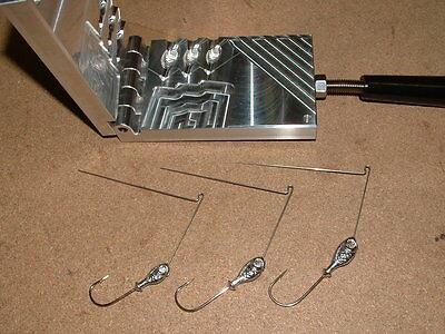 aluminum fishing mold