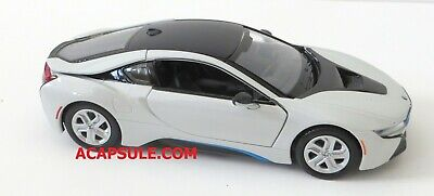 $16.99 • Buy White 2018 BMW I8 Coupe 1/24 Scale Diecast Model