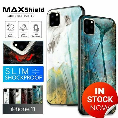 AU11.99 • Buy IPhone 11 Pro Max Case Shockproof Tough Glass Marble Soft Cover For Apple