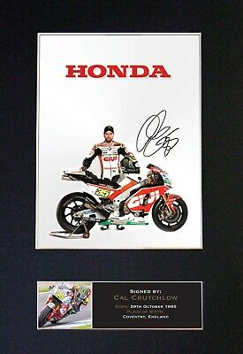 #628 CAL CRUTCHLOW Reproduction Signature/Autograph Mounted Signed Photograph A4 • 19.99£