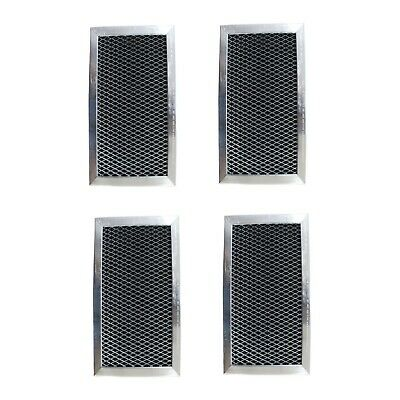 $15.77 • Buy GE Compatible WB02X11124 JX81J Microwave Oven Hood Charcoal Carbon Filter   4-Pk