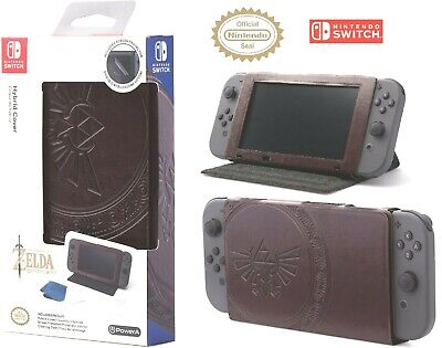 $9.99 • Buy Nintendo Switch Case And Stand Zelda Hylian Crest Leatherette Licensed Nintendo