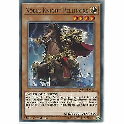 MP19-EN143 Noble Knight Pellinore | 1st Edition | Rare Card | YuGiOh TCG Effect • 0.99£