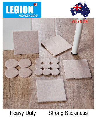 AU4.60 • Buy Felt Pads Protection Pad Floor Couch Sofa Furniture Protectors Pads Self-stick