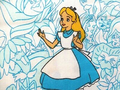 Alice In Wonderland Fabric Fat Quarter Cotton Craft Quilting Disney • 4.89£