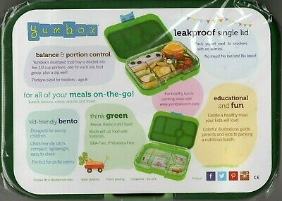 AU44.99 • Buy Best Quality Leakproof Lunchbox Yumbox California Tray Dark Green AU Seller