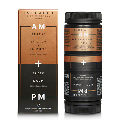 AU59.95 • Buy JS HEALTH AM + PM FORMULA 30t+30t MORNING AND NIGHT FORMULA