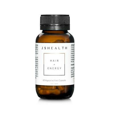 AU44.95 • Buy Js Health Hair & Energy 60c - Improve Your Hair & Improve Your Energy