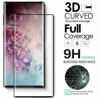 $ CDN8.62 • Buy For Samsung Note 10+ S10 5G S10 Plus Tempered Glass Screen Protector Film NEW