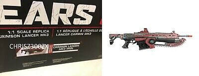 $211.40 • Buy Gears 5 Gears Of War 5 Weapon Rifle Prop Replica Crimson Lancer MK3 1:1 Lifesize