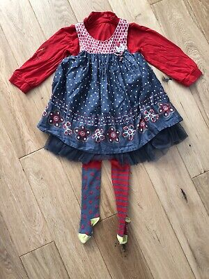 Marèse Girl Dress Set 18m • 7.50£