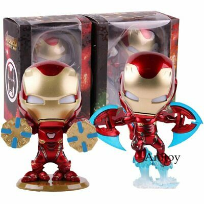 AU49.95 • Buy Cosbaby Hot Toys Avengers Infinity War Iron Man Mark L MK 50 With LED Light Bobb