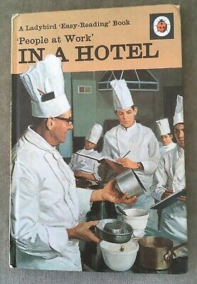 Vintage Ladybird 'People At Work' In A Hotel Book Series 606B 18p Net  • 10£