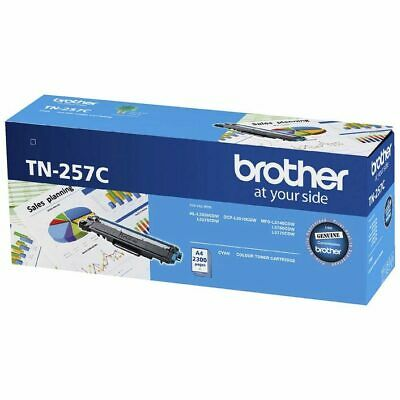 AU199 • Buy Brother TN257 Cyan High Yield Laser Toner Cartridge TN-257C MFC L3750CDW L3770CD