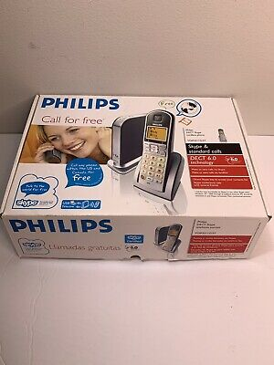 £71.99 • Buy Philips Cordless VOIP Phone Model VOIP 3211 In Box