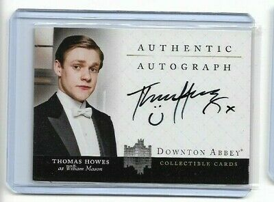 Downton Abbey Seasons 1-2 Trading Cards Authentic Autograph Thomas Howes A6 • 54.37£