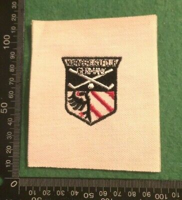 Embroidered Cloth Patch Badge Patchwork - Golf Germany (dd102) • 4.49£