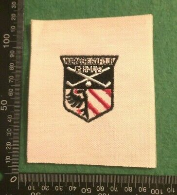£4.49 • Buy Embroidered Cloth Patch Badge Patchwork - Golf Germany (dd102)