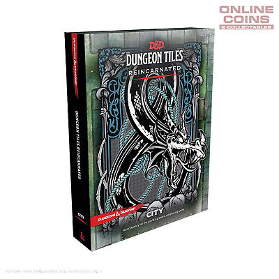AU34.95 • Buy Dungeons And Dragons Dungeon Tiles Reincarnated City - Boxed