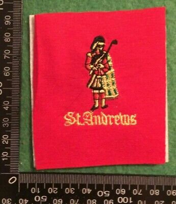 Embroidered Cloth Patch Badge Patchwork - St Andrews Golf  (dd104) • 4.49£
