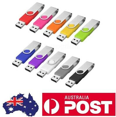 AU13 • Buy AUS - Lot, ( 10 PACK ) Real Usb Flash Drive Memory Stick Thumb Jump Pen Drive