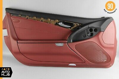 $373.80 • Buy 07-08 Mercedes R230 SL550 Left Driver Side Interior Door Panel Black Red OEM