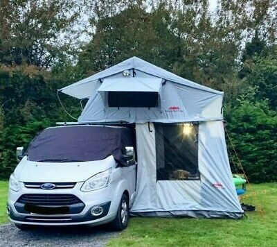Extended Ventura Deluxe 1.4 Roof Top Tent + Annex Land Rover Expedition Overland • 925£
