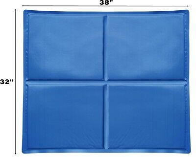 $22.98 • Buy Large Pet Dog Cooling Mat Pad For Kennels, Crates For Pet 38  X 32  NEW