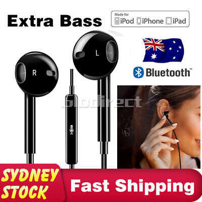 AU7.25 • Buy Bluetooth Earbuds For Earpods Headphones Headset Earphone IPhone 8 Plus X XS AU