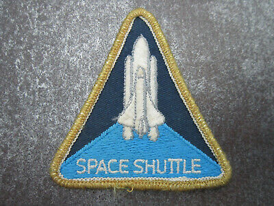 Space Shuttle Woven Cloth Patch Badge • 3.99£