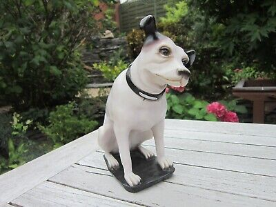 Vintage Original HMV His Masters Voice Dog Nipper 8  Figure RCA Victor  • 350£